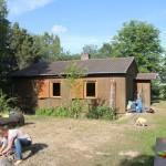 Unser Seminarraum (mit großer Holzwerkstatt im Keller)